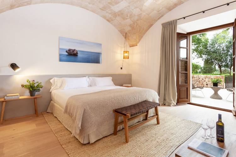 Junior suite terrace son julia country house mallorca