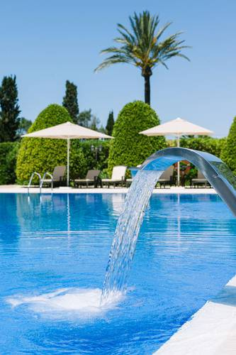 Agapanto pool son julia country house mallorca