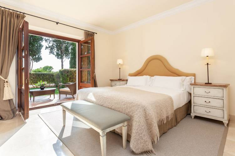 Superior terrace room son julia country house mallorca